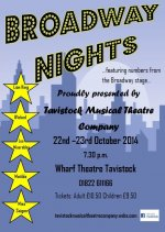 "Tavistock Musical Theatre Co ""Broadway Nights"""